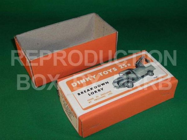 Dinky #430 ( 25x ) Commer Breakdown Lorry - Reproduction Box